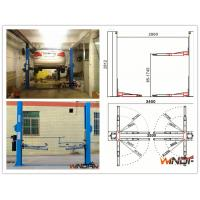 Wholesale High Stability Hydraulic 2 Post Car Lift With Adjustable Beam from china suppliers