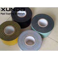 Quality Good Peel Adhesion Corrosion Resistant Tape For Wrapping Water Piping for sale