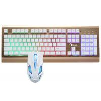 Quality Led Gaming Keyboard And Mouse Combo For Windows 2000 / XP / VISTA / 7 / 8 for sale
