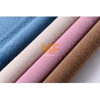 Wholesale 100% Polyester 3D Burnout Velvet Fabric With Special Patterned Easy Cleaning from china suppliers