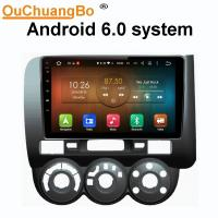 Buy cheap Ouchuangbo car radio head unit stereo android 6.0 for Honda fit 2004-2007 with BT Gps navi SWC 1080 video from wholesalers