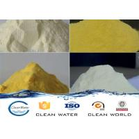 Wholesale white/light yellow/yellow powder polyaluminium chloride cas no 1327-41-9 from china suppliers