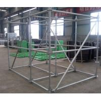 Quality Painted or Galvanized Ring lock Scaffolding Systems for sale