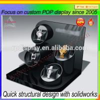 Wholesale Customized clear acrylic countertop fashion watch display stand from china suppliers