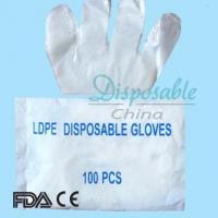 Wholesale CE/ISO Approved Medical PE Gloves Gloves with Powder from china suppliers