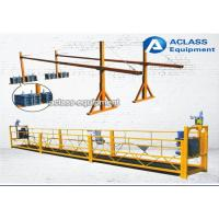Wholesale Customized Aluminum alloy Suspended Working Platform , Suspended Rope Platform from china suppliers