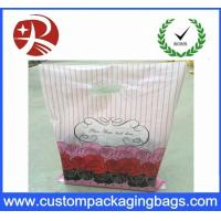 Wholesale Recyclable Dustproof Shopping Plastic Die Cut Handle Bag Customized Design from china suppliers