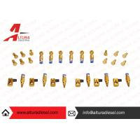 Wholesale Aviation Aluminum Injector Backflow Connector Golden For Bosch / Denso JY05 from china suppliers