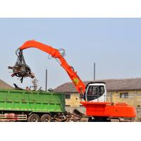 Wholesale Large Hydraulic Material Handler Excavator , Mini Electric Powered Excavator from china suppliers