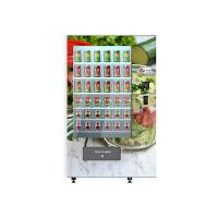 Quality University School Intelligent Salad Vending Machine , Automated Salad Vending Tower for sale