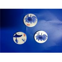 Wholesale Beautiful Zirconia Ceramic Parts Fashionable Decorative Ceramic Disc With Pinting from china suppliers