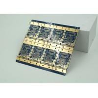 Wholesale 6 Layer High Frequency Material HDI PCB Blue Solder Mask  BGA from china suppliers