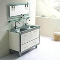 Wholesale hand wash cabinet Single-hole basin with bathroom ceramic from china suppliers
