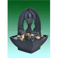 """Quality Yoga 9"""" Backyard Water Fountains , Tabletop Indoor Fountains OEM Acceptable for sale"""