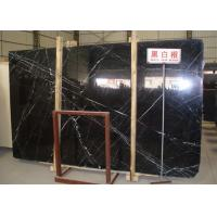 "Wholesale Smooth Nero Margiua Natural Marble Stone Slab Flooring 12"" X 12"" X 3 Size from china suppliers"