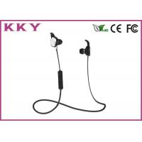 Quality Sports Style Portable Bluetooth Earphones In Ear For IPhone / Android Smartphone for sale