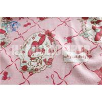 Quality High water absorption 330gsm 40*40cm printed microfiber cleaning towel for sale