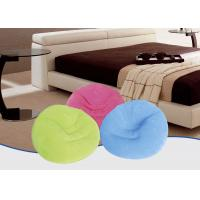 Quality Fantastic Flocked Air Bed Inflatable Cosy Chair Light Weight Convenient Furniture for sale