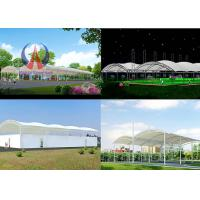 Wholesale Large Playground Shade Canopy With Metallic Framework White Cloth Swimming Pool Shade Sail from china suppliers