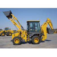 Wholesale Energy Saving Eco Tractor Backhoe Loader for Piping Builds / Cable Builds / Park Virescence from china suppliers