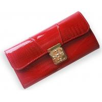 Wholesale Drop shipping genuine leather turn lock lady evening clutch wallet from china suppliers