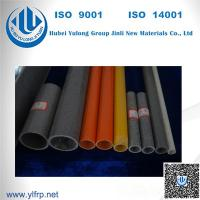 Wholesale FRP Extrusion Fence Post Round Tubing For Handrail / Fencing System from china suppliers