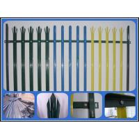 Wholesale colourful D or W section pale Palisade Fence from china suppliers