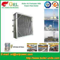 Wholesale Plate Type Boiler Air Preheater Alloy Steel , Boiler APH Energy Saving from china suppliers
