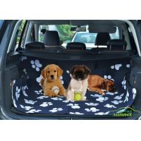 Wholesale Audi / Truck Pet Car Accessories Back Seat Dog Cover With Logo Printed from china suppliers