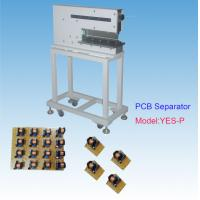 China Electronic Industrial Rigid V Cut Pcb Separator Solid Iron Frame Non Roller Cutting on sale