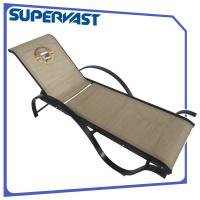 Wholesale Streamline Aluminum Frame Outdoor Patio Furniture Adjustable Sling Chaise Lounge from china suppliers