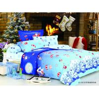Wholesale Blue Cartoon Customized Printed 100 % Cotton Kids Bed Linen Sets for Boys from china suppliers