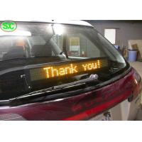 Wholesale Single Red Color Car LED Sign Display With Meanwell Power Supply , High Definition from china suppliers