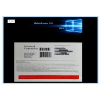 Wholesale OEM Microsoft Windows 10 Pro 32 64bit GENUINE LICENSE KEY 100% Online Activation from china suppliers