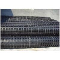 Wholesale Plastic Biaxial Geogrid For Steepening Slope Protection , 500G Weight from china suppliers