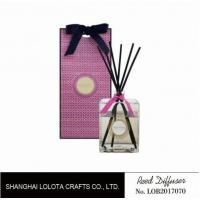Wholesale Professional Home Reed Diffuser Square Shaped SGS ITS BV Certificated from china suppliers