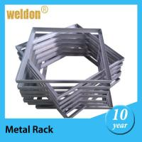 Wholesale Aluminum / Steel stowage display Brackets By Laser cut and CNC Punch from china suppliers