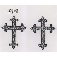 Wholesale Iron On Embroidered Religious Cross Patch from china suppliers