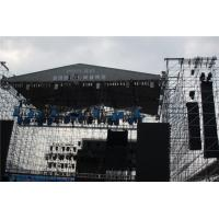 Wholesale Black Indoor Layer Speaker Truss Aluminum Loading LED System 300x300 mm from china suppliers