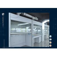 Wholesale Physics Floor Stand Laboratory Walk In Fume Hood Heavy Duty Air Flow from china suppliers