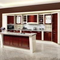 Wholesale Custom Wooden Veneer Kitchen Cupboards High Pressure Built In Traditional Style from china suppliers