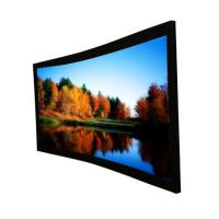 "Wholesale Custom Cinema Projection Screen / Curved Projector Screen 92"" from china suppliers"