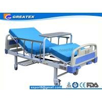 Wholesale Family / Hospital Singel Crank Home Hospital Beds With Aluminium Guardrails from china suppliers