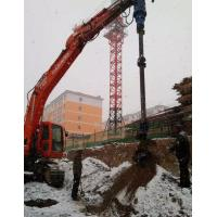 Buy cheap Driven Piles Construction Hydraulic Auger Drilling Equipment 20-46 Rpm Rotate Speed from wholesalers