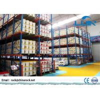 Wholesale Logistics Storage Drive In Pallet Rack 1350 - 3900mm Width Corrosion Resistance from china suppliers