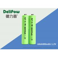 Quality Customized 1.2V 400mAh AAA NIMH Rechargeable Battery For Digital  Camera for sale
