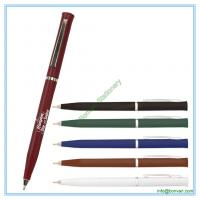Wholesale slogan printed hotel ballpoint pen,hotel slogan pen for logo branding from china suppliers