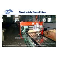 Wholesale 600mm In Width Ceiling PU Sandwich Panel Production Line PLC Control from china suppliers