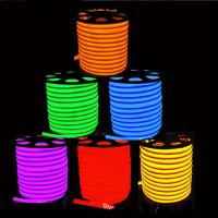 Wholesale Flex LED Neon light 80leds/M Warm white/cool white/R/G/B/RGB AC85-265V LED Neon rope light from china suppliers