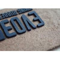 Buy cheap high quality logo garment silicone rubber label silicone composite patch from wholesalers